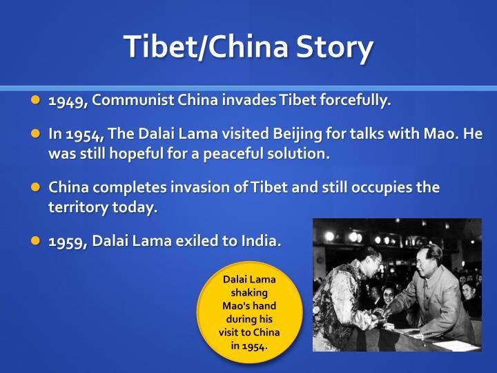 Tibet/China Story