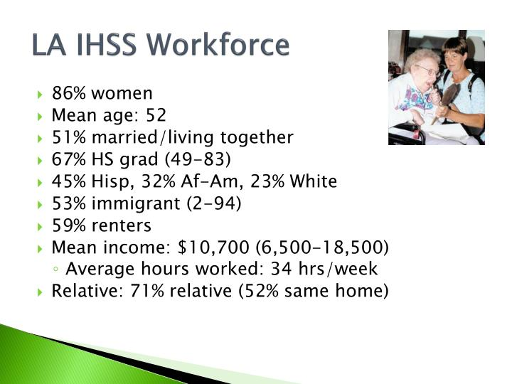 LA IHSS Workforce