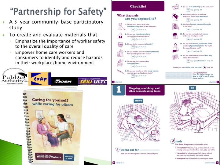 """Partnership for Safety"""
