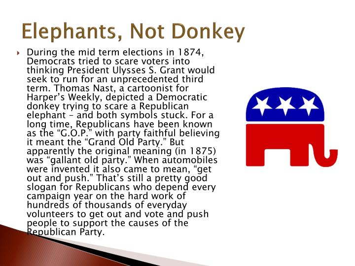 Elephants, Not
