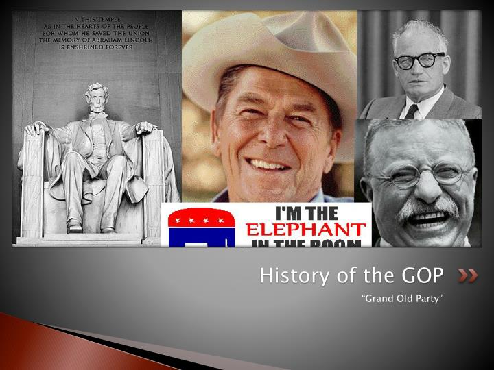 History of the GOP