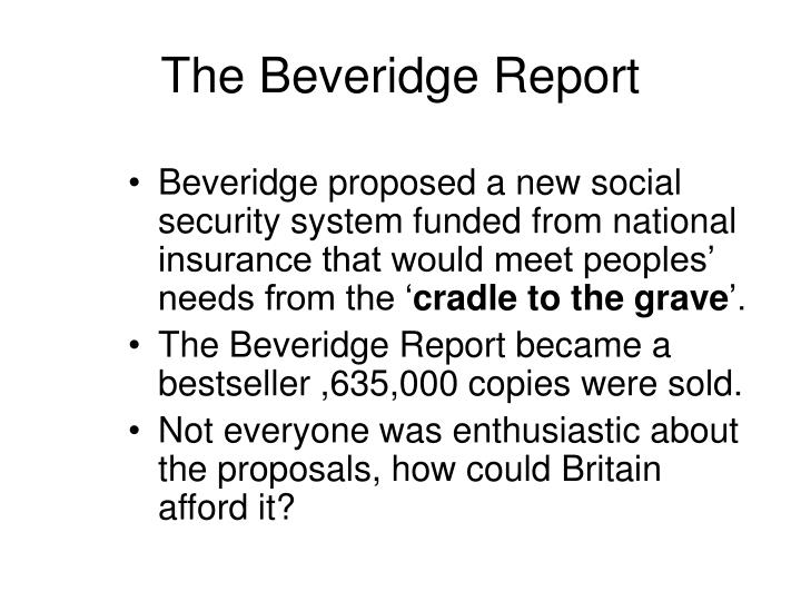 The Beveridge Report