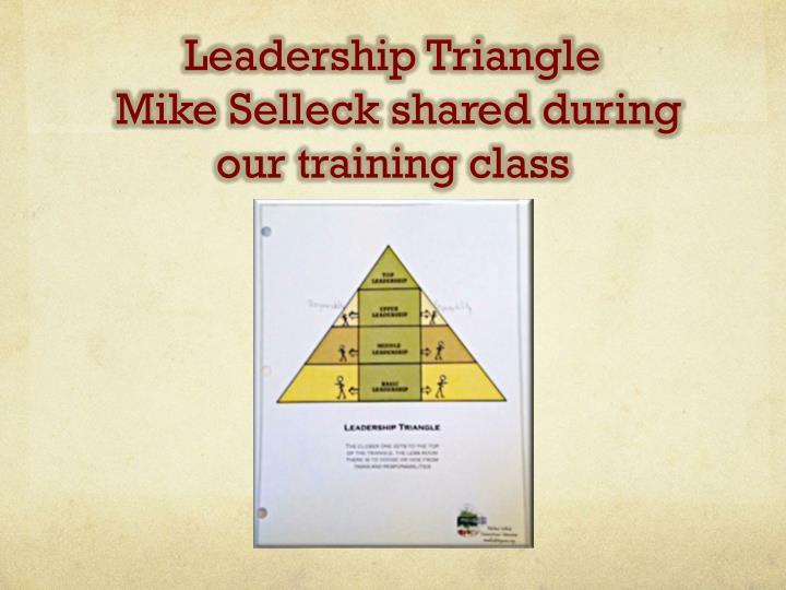 Leadership Triangle