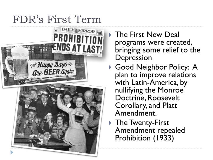 FDR's First Term