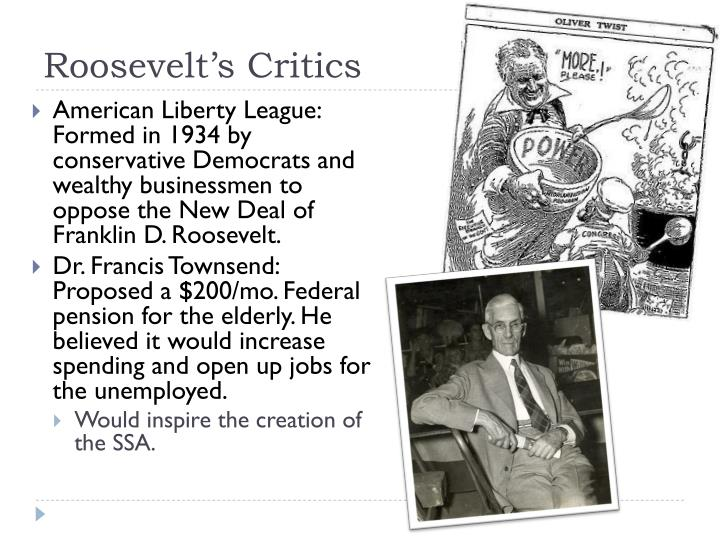Roosevelt's Critics