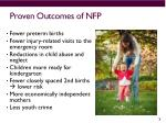 proven outcomes of nfp