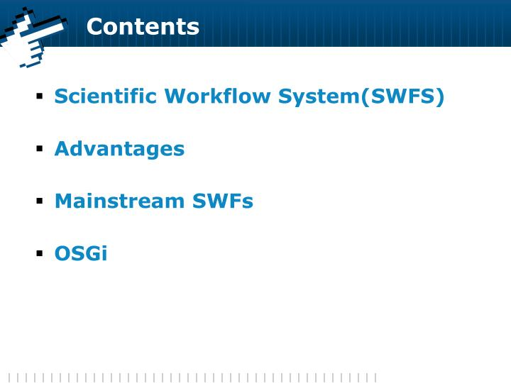 Scientific Workflow System(SWFS)