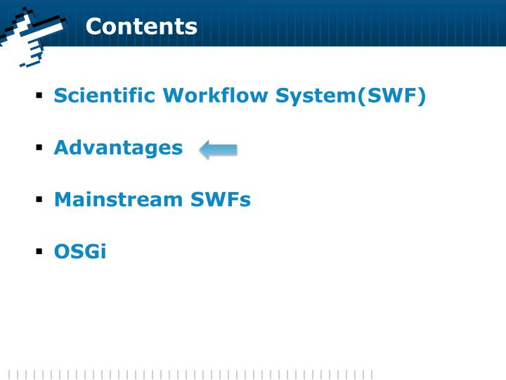 Scientific Workflow System(SWF)