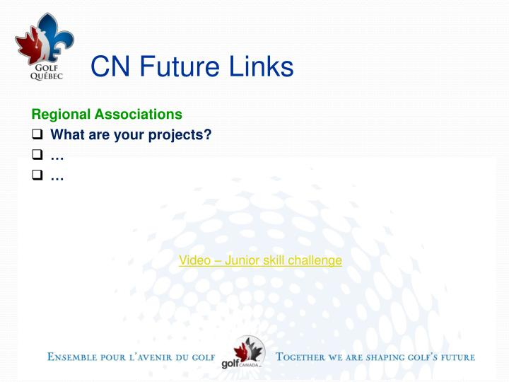 CN Future Links