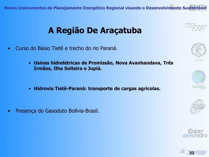A Região De Araçatuba