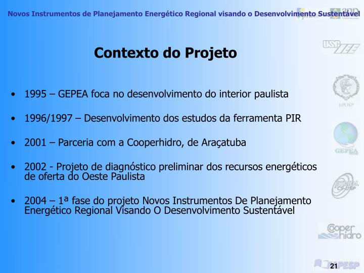 Contexto do Projeto