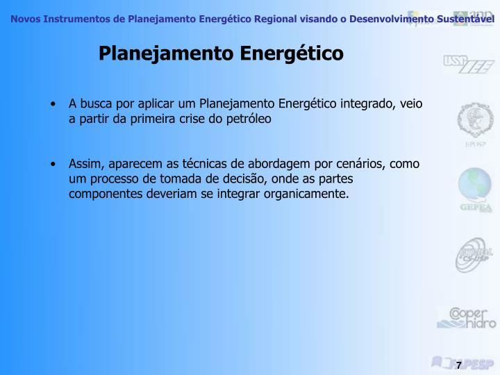 Planejamento Energético