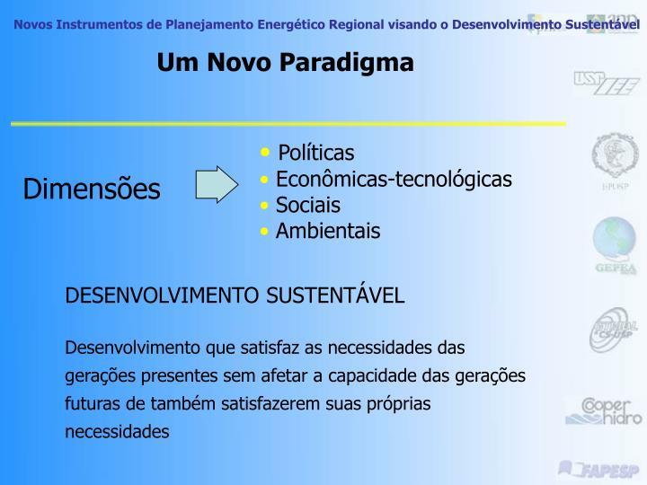 Um Novo Paradigma