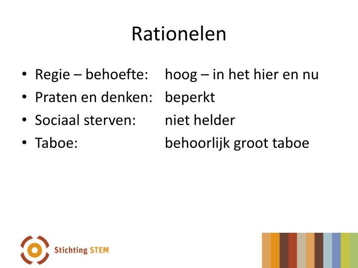 Rationelen