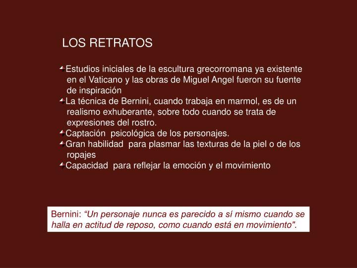 LOS RETRATOS