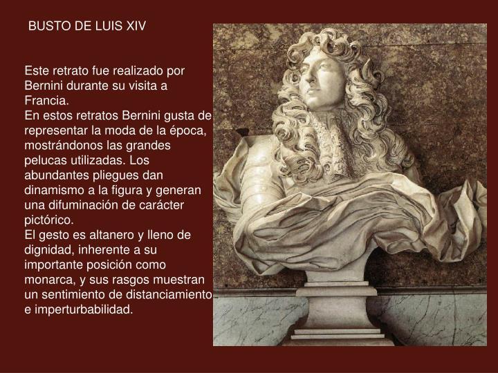 BUSTO DE LUIS XIV