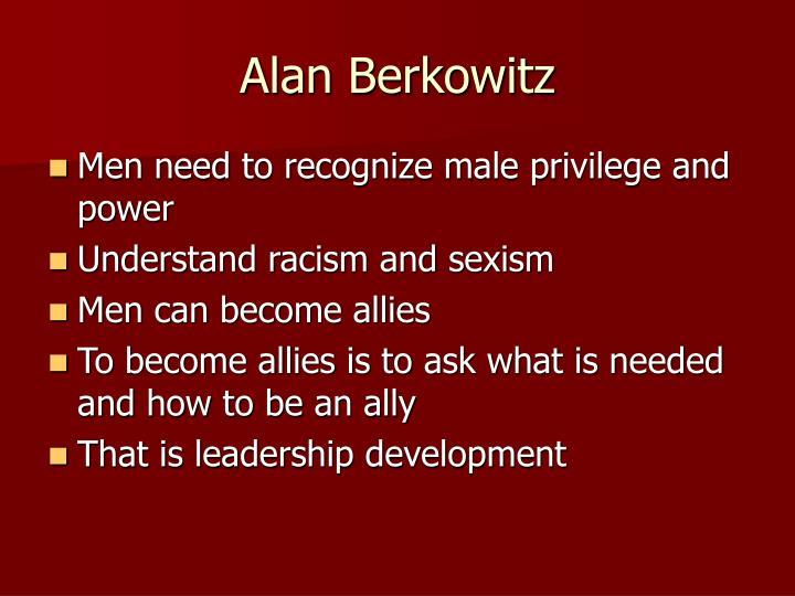 Alan Berkowitz