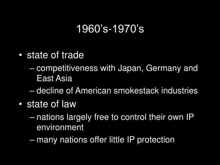 1960's-1970's