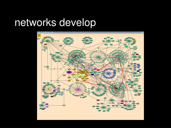 networks develop