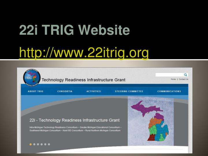 22i TRIG Website