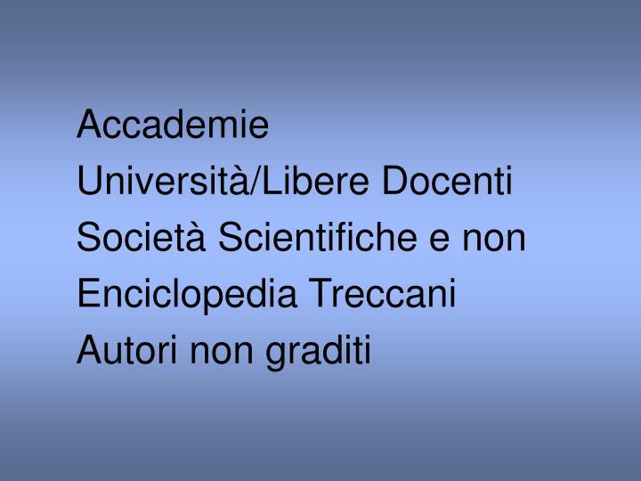 Accademie