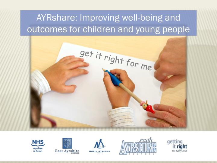 AYRshare: Improving well-being and outcomes for children and young people