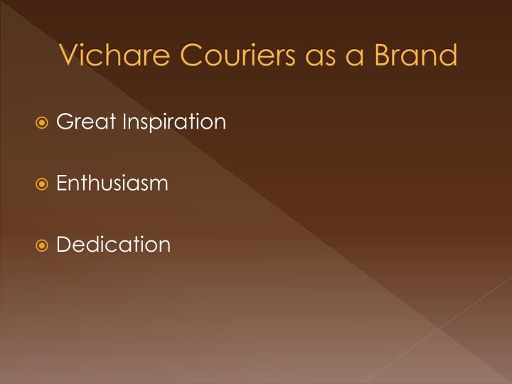 Vichare Couriers as a Brand