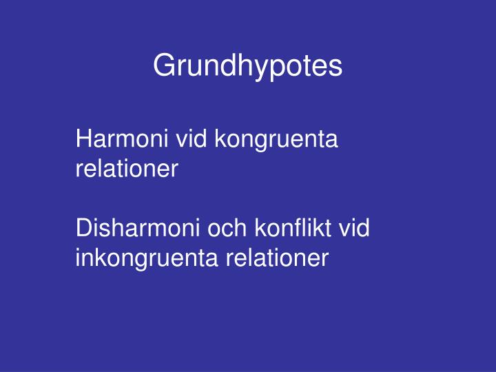 Grundhypotes