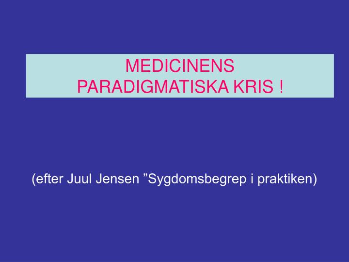 MEDICINENS