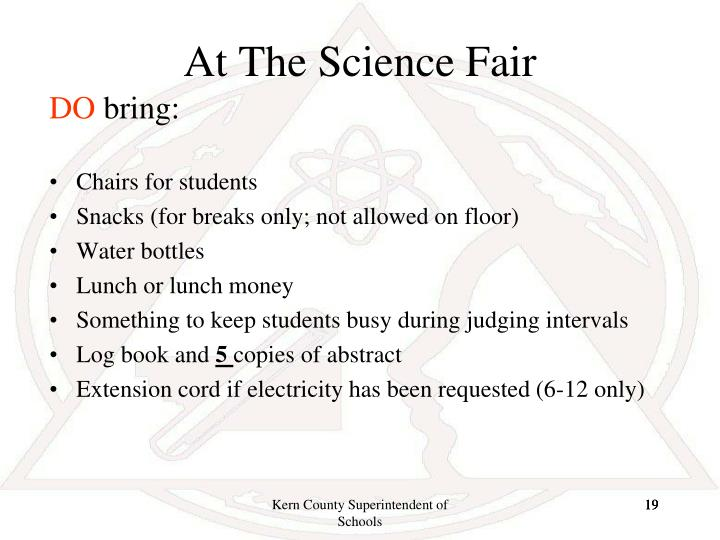 At The Science Fair