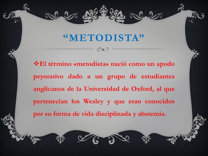 """Metodista"""