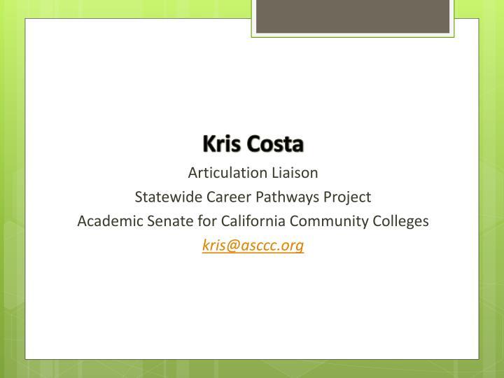 Kris Costa