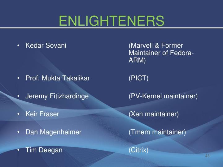 ENLIGHTENERS