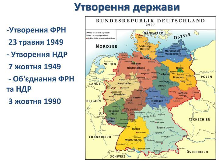 Утворення держави