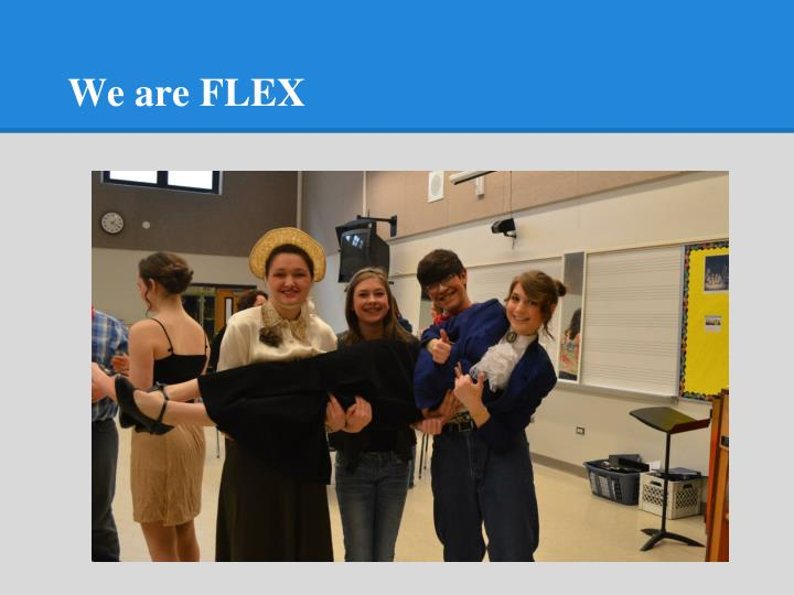 We are FLEX