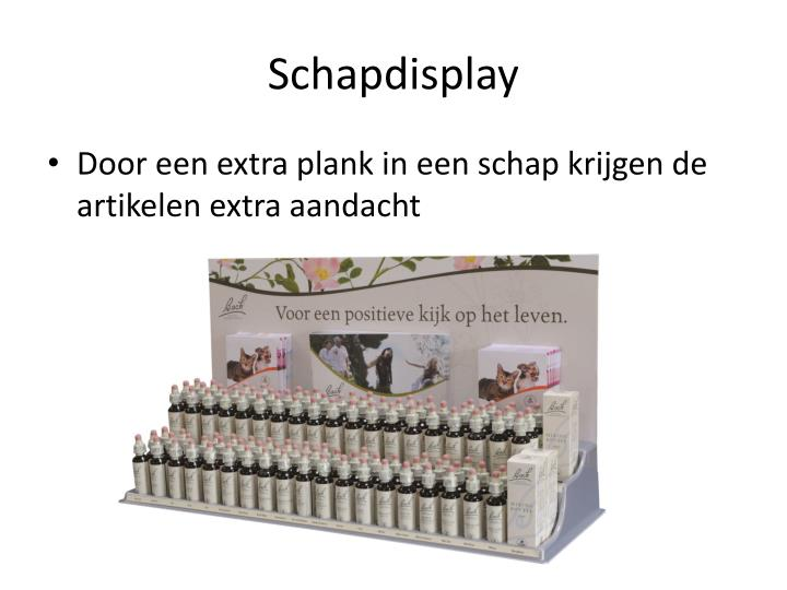 Schapdisplay