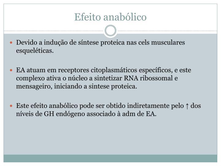Efeito anabólico