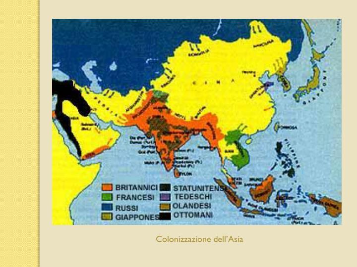 Colonizzazione dellAsia