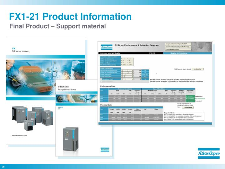 FX1-21 Product Information