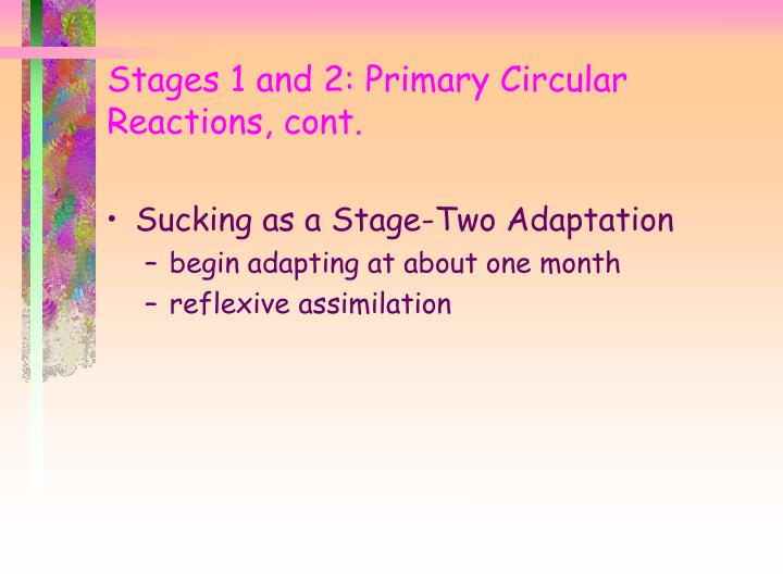 Sucking as a Stage-Two Adaptation