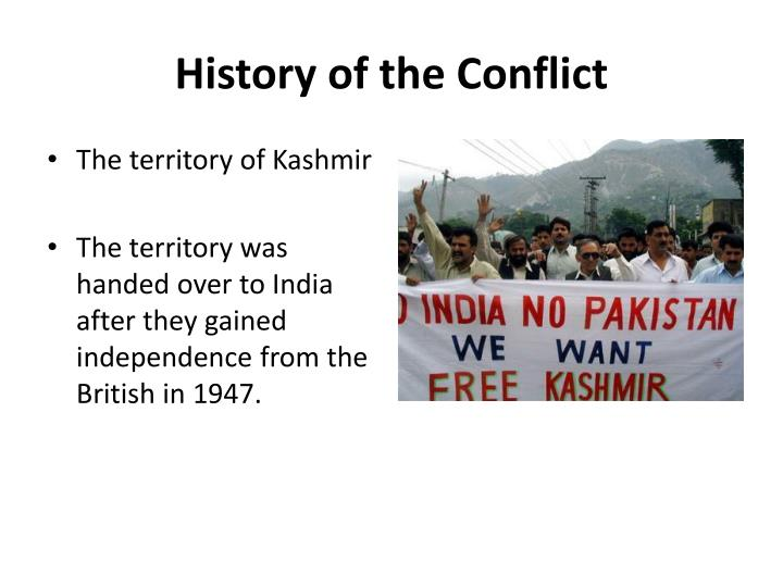 History of the Conflict