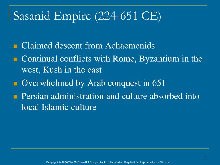 Sasanid Empire (224-651 CE)