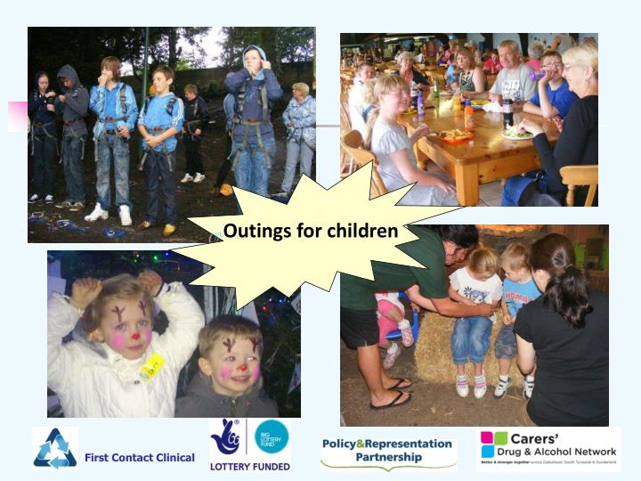 Outings for children
