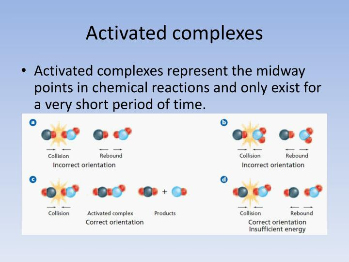 Activated complexes