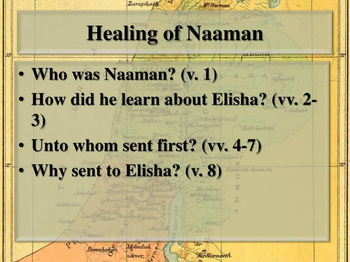 Healing of