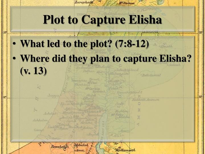 Plot to Capture Elisha