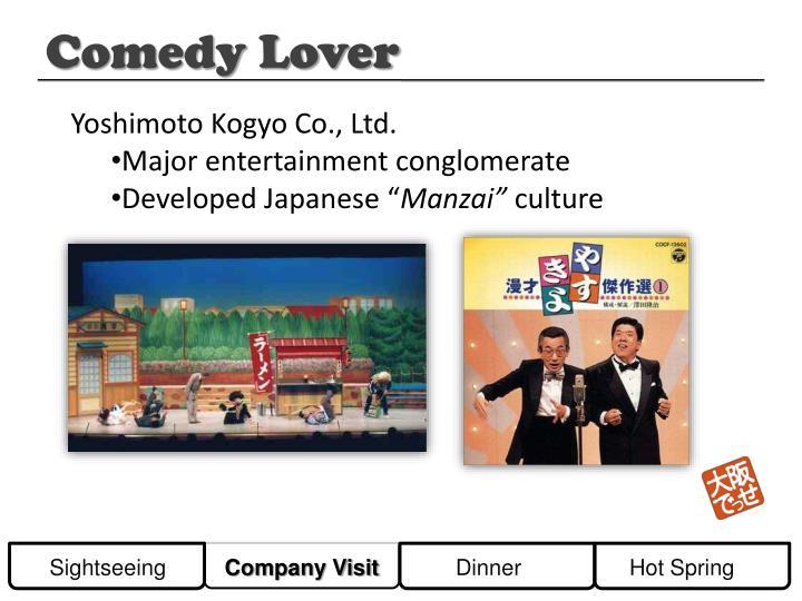 Yoshimoto Kogyo Co., Ltd.