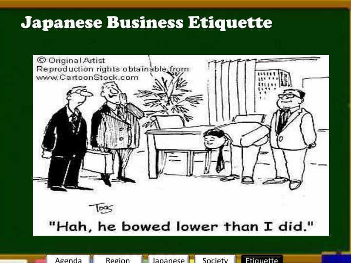 Japanese Business Etiquette