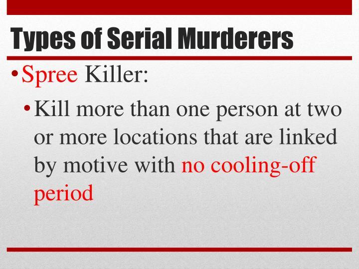 Types of Serial Murderers