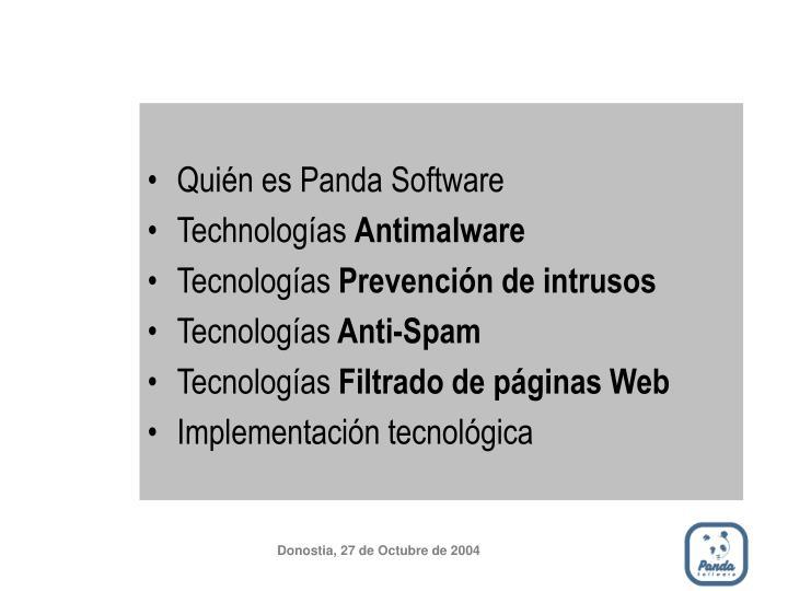 Quién es Panda Software